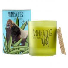 Свеча ароматическая Ambientair Gorilla амбровый Wild 40 ч