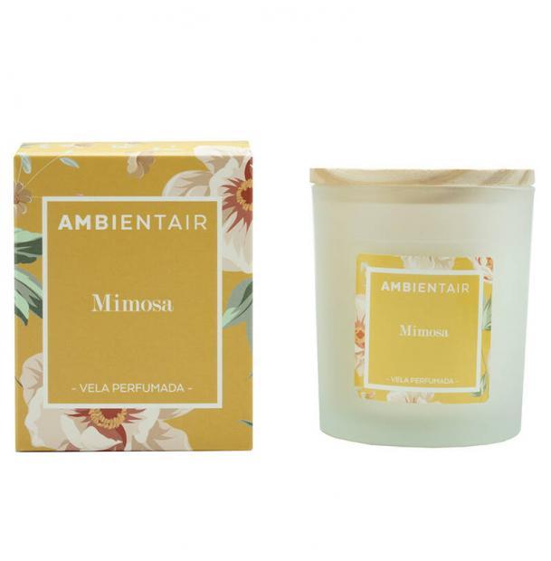 Свеча ароматическая Ambientair Мимоза Floral 30 ч