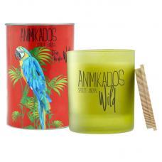 Свеча ароматическая Ambientair Parrot цитрусовый Wild 40 ч