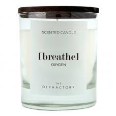 Свеча ароматическая Ambientair The Olphactory Breathe Black Кислород 40 ч