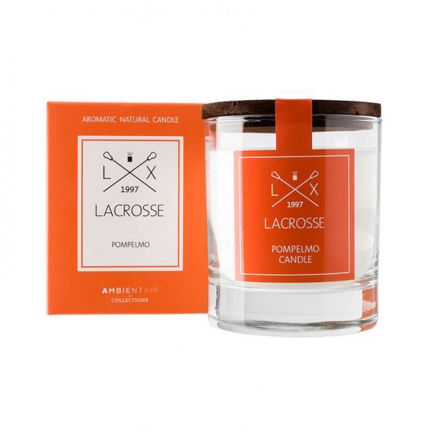 Свеча ароматическая в стекле Ambientair Грейпфрут
