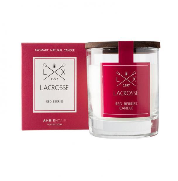 Свеча ароматическая в стекле Ambientair Красные ягоды