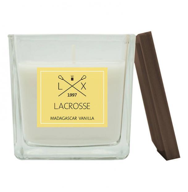 Свеча ароматическая в стекле Ambientair Мадагаскарская ваниль 8x8 см