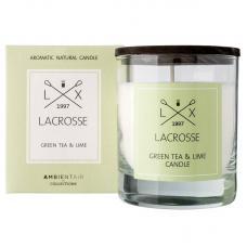 Свеча ароматическая в стекле Ambientair Зеленый чай & Лайм