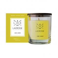 Свеча ароматическая в стекле круглая Ambientair Lacrosse Амбра 40 ч