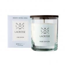 Свеча ароматическая в стекле круглая Ambientair Lacrosse Кислород 40 ч