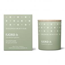Свеча ароматическая FJORD с крышкой 65 г новая