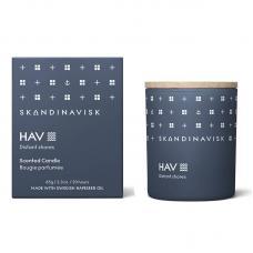 Свеча ароматическая HAV с крышкой 65 г новая