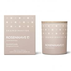 Свеча ароматическая ROSENHAVE с крышкой 65 г новая