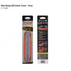 Светодиодный маркер на ошейник Nite Ize Nite Dawg LED collar cover Red