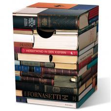 Табурет картонный сборный Remember Bookworm