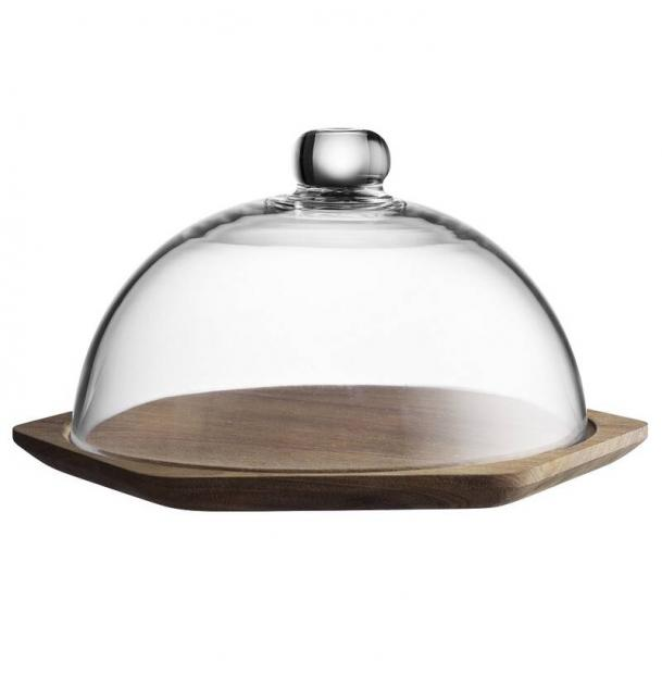 Тарелка для сыра деревянная с крышкой Typhoon Modern Kitchen