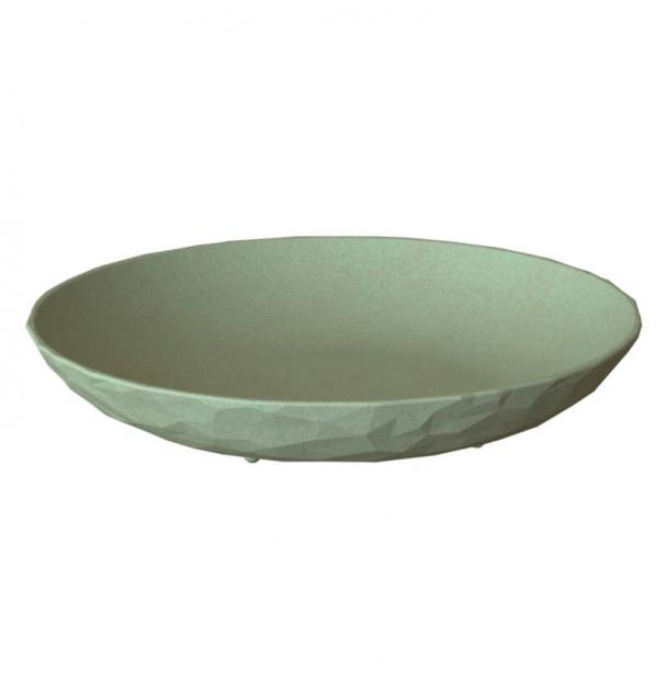 Тарелка суповая Koziol Club Organic d22 см зелёная
