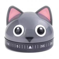 Таймер Kikkerland Cat KT44