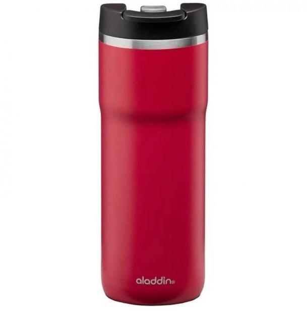 Термокружка из нержавеющей стали ALADDIN Barista Mocca Leak-Lock 0,35L красная 10-09363-002