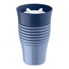 Термокружка Koziol Safe To Go Organic 400 мл синяя