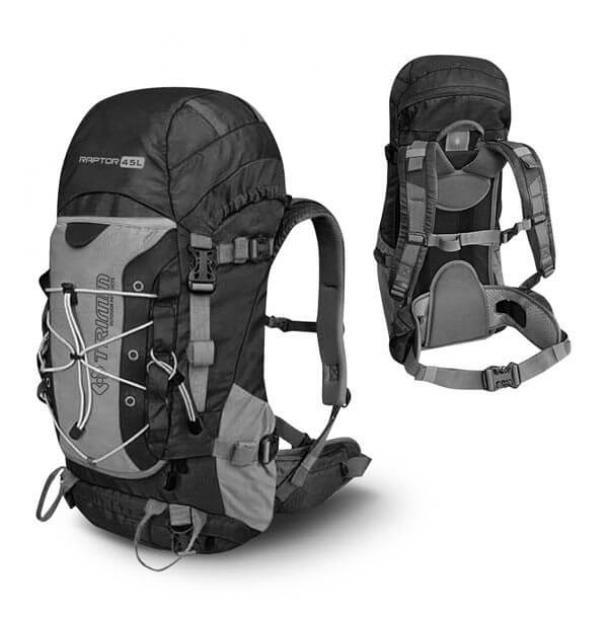Рюкзак Trimm Adventure Raptor II Black/Dark Grey 45L