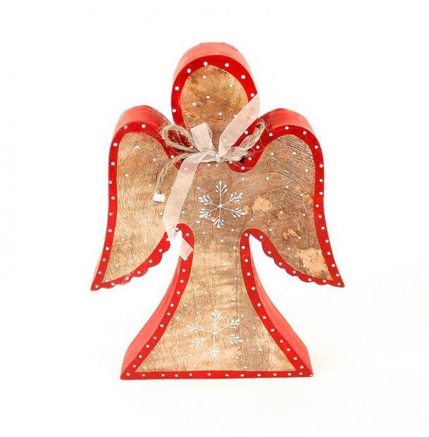 Украшение для интерьера EnjoyMe Angel en_ny0001, разноцветный, 30 х 21 х 5 см