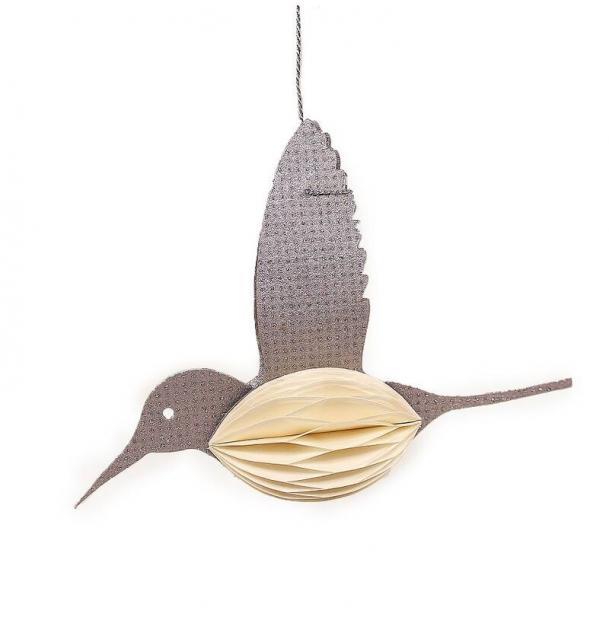 Украшение для интерьера EnjoyMe Bird en_ny0074, разноцветный, длина 15,6 см