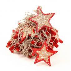 Украшение для интерьера EnjoyMe Christmas Stars en_ny0005, разноцветный, 30 шт