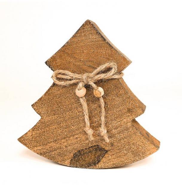 Украшение для интерьера EnjoyMe Wooden Tree, en_ny0032, дерево, длина 14 см