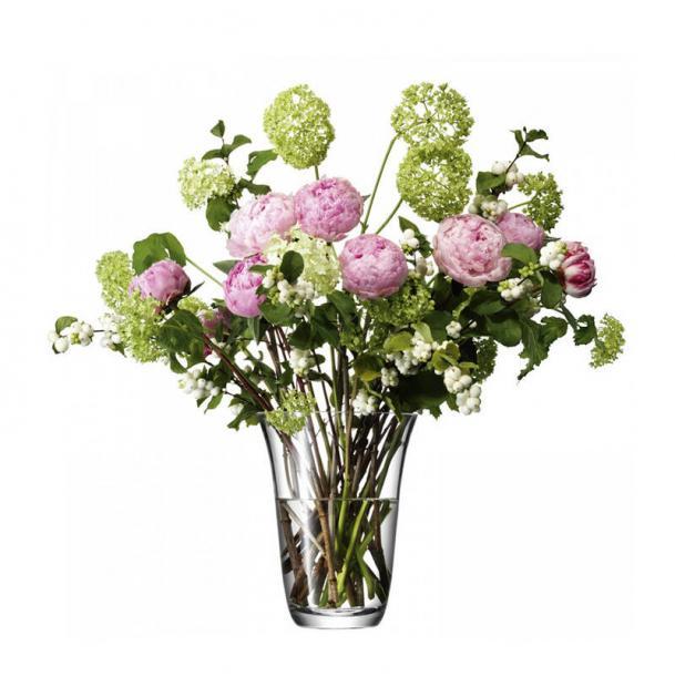 Ваза для открытого букета LSA International Flower 23 см