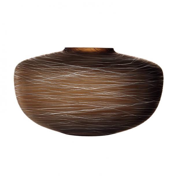 Ваза LSA International Boulder 175 см коричневая