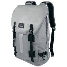 Рюкзак Victorinox Altmont 3.0, Flapover Laptop Backpack, серый, 32x13x48 , 19 л