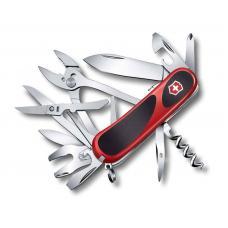 Нож Victorinox EvoGrip S557, 85 мм, 21 функция, красный