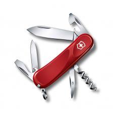 Нож Victorinox Evolution 10, 85 мм, 14 функций, красный