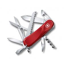 Нож Victorinox Evolution 17, 85 мм, 15 функций, красный