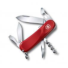 Нож Victorinox Evolution S101, 85 мм, 12 функций, красный