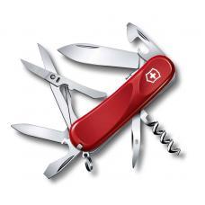 Нож Victorinox Evolution S14, 85 мм, 14 функций, красный