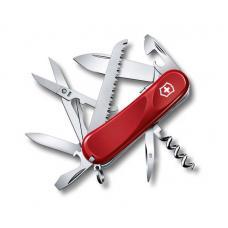 Нож Victorinox Evolution S17, 85 мм, 15 функций, красный
