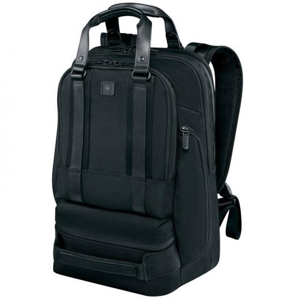 Рюкзак Victorinox Lexicon Professional Bellevue, цвет черный, 30x19x46 см, 26 л