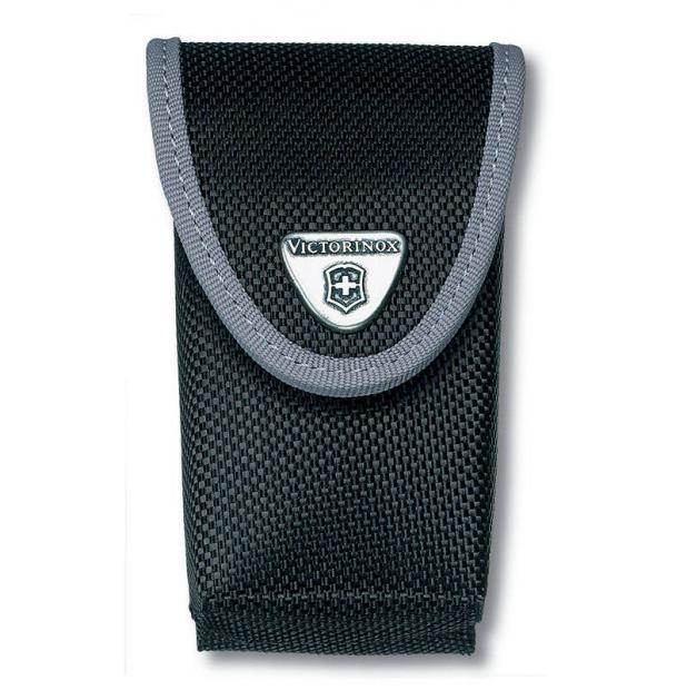 Чехол нейлоновый черный для Swiss Army Knives or EcoLine 91 мм, толщина ножа 5-8 уровней