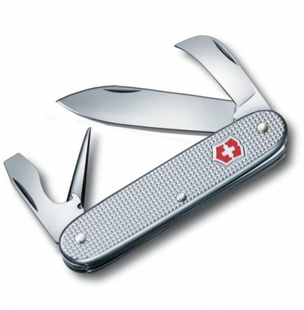 Нож Victorinox Pioneer, 93 мм, 6 функций, серебристый 0.8140.26