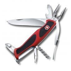 Нож Victorinox RangerGrip 74, 130 мм, 14 функций, красный