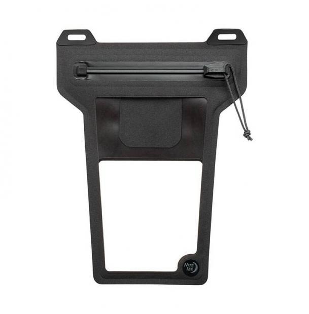 Водонепроницаемый чехол для смартфона Nite Ize RunOff Waterproof Phone Pouch Charcoal ROPPL-09-R3