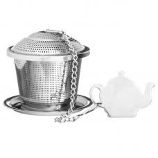 Емкость для заваривания чая с блюдцем Price & Kensington P_0056.560