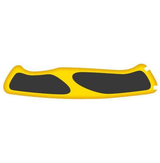 Задняя накладка для ножей VICTORINOX 130 мм, нейлоновая, жёлто-чёрная