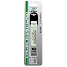Запасные лезвия для ножа 1664 10 шт ширина 18 мм HEYCO HE-01664101000