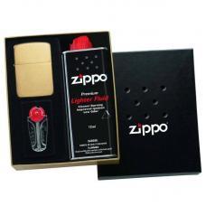 Зажигалка Zippo 1941 Replica 1941B в подарочной упаковке + топливо и кремни