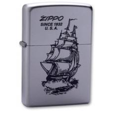 Зажигалка ZIPPO Boat-ZIPPO Satin Chrome