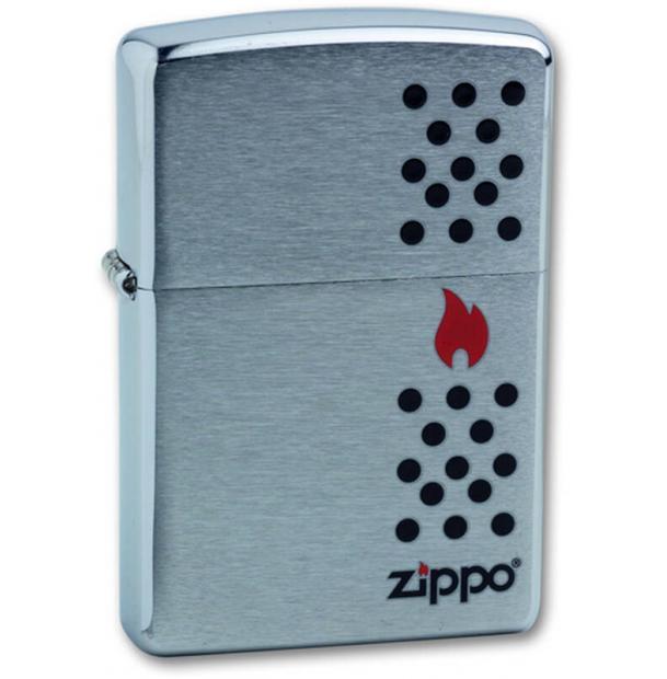 Зажигалка ZIPPO Chimney Brushed Chrome