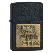 Зажигалка ZIPPO Classic Black Crackle