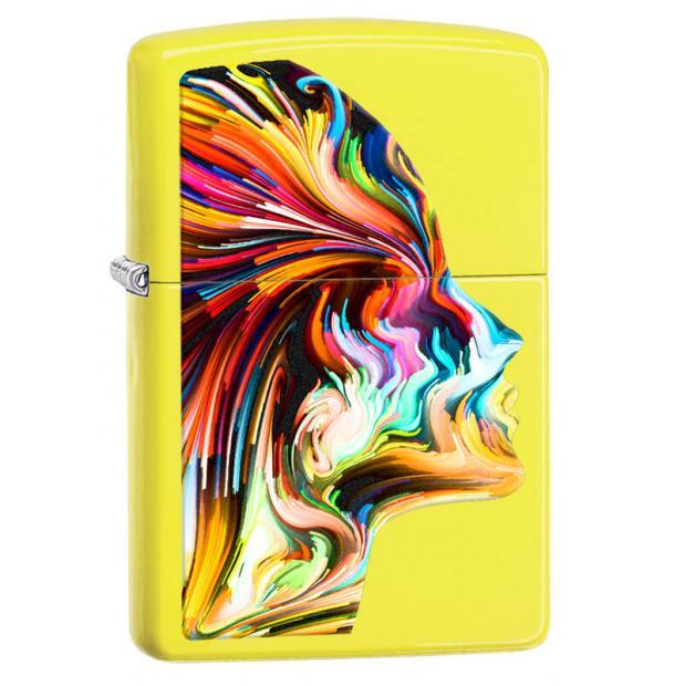 Зажигалка ZIPPO Classic Neon Yellow