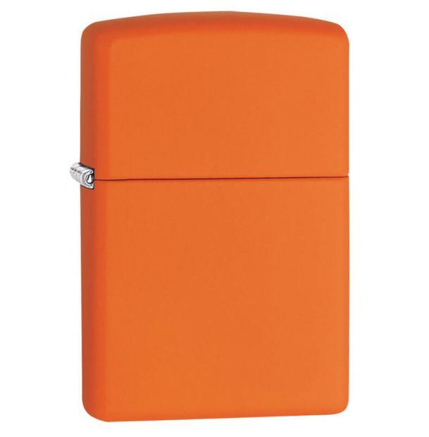 Зажигалка ZIPPO Classic Orange Matte