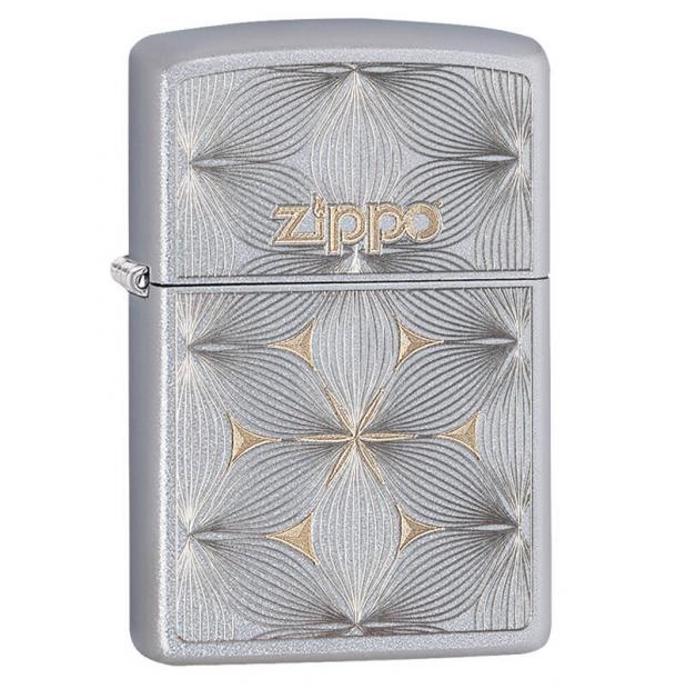 Зажигалка ZIPPO Classic Satin Chrome