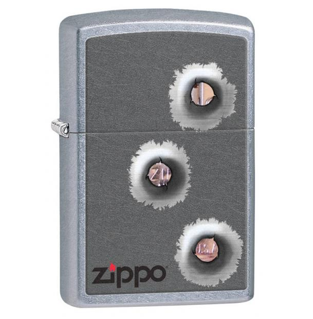 Зажигалка ZIPPO Classic Street Chrome